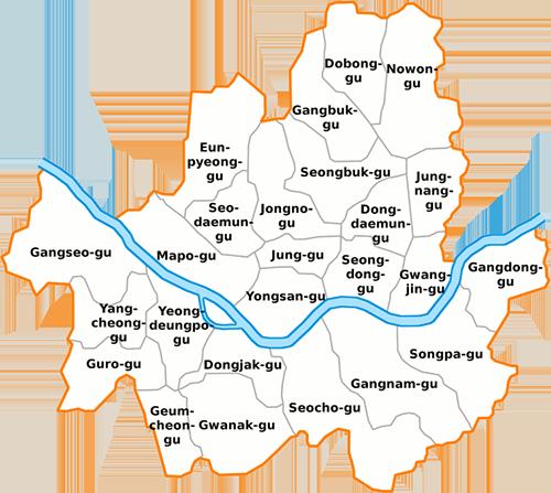 SMOE Locations Teach English in Kore