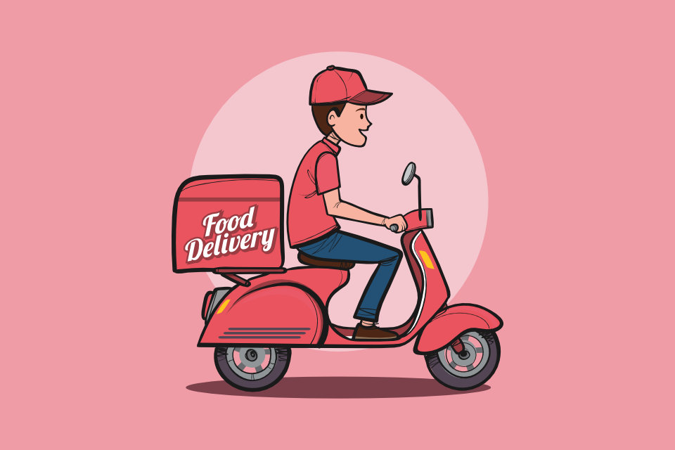 Image result for food delivery service